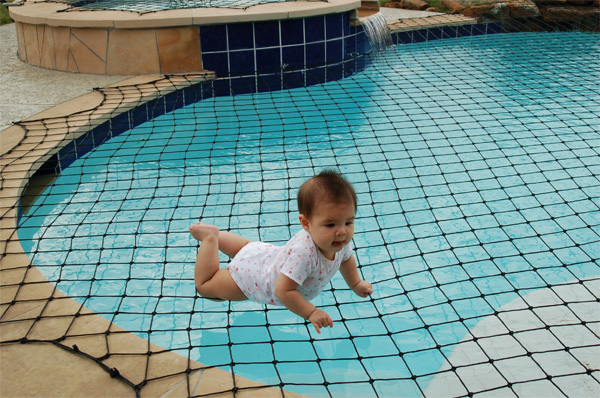 Safety pool nets to protect your child